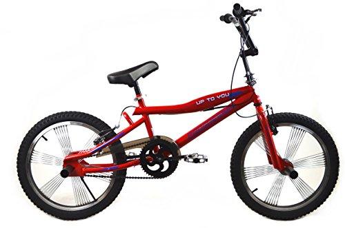 BMX BIKE 20'' FREESTYLE 4 x PEGS Jugend Fahrrad PROGRESSER GROSSE AUSWAHL Rot