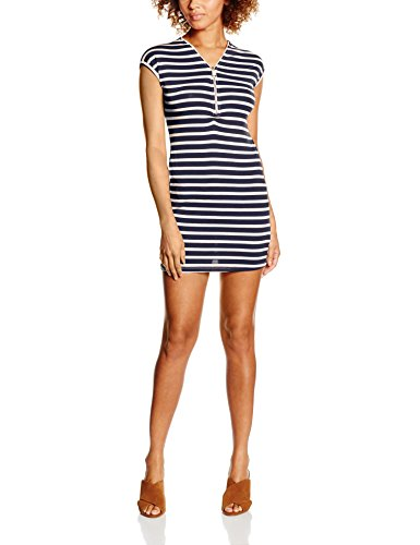 Madonna 74-3028, Robe Femme Multicolore - Mehrfarbig (offwhite-navy 8288)