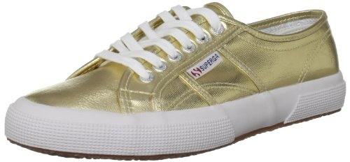 Superga 2750 COTMETU S002HG0 Sneaker donna Oro Gold Gold 174 41 O9f