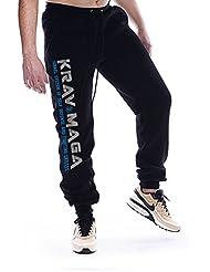 Dirty Ray Arts Martiaux Krav Maga pantalon de sport homme avec èlastique à la fin SDKM1S