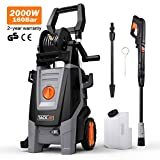 TACKLIFE Pressure Washer, 160 Bar 2000 W 450 L/H Jet Washers, Car Power