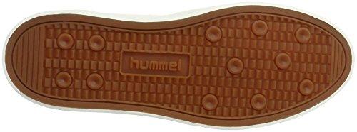 Hummel Diamant (Niedriger Schaft), Auffällige Damen Sneakers AUS Anderes Leder, Besonderes Design, Sportliche Freizeitschuhe, Scarpe da Ginnastica Basse Donna Nero (Black)