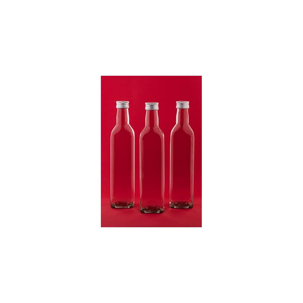 24 Leere Glasflaschen 250ml Mar Saftflasche Likrflaschen Schnapsflaschen Lflaschen Flaschen Wasserflasche Aus Glas Zum Selbst Befllen Von Slkfactory