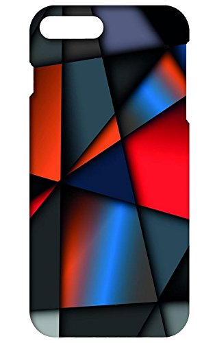 Back cover for Apple iPhone 8 plus | Designer case |pattern background multi color iPhone 8 plus case| 3D Premium quality (Multicolor, Matte Finish,Poly-Carbonate hard plastic)