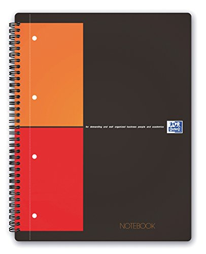Oxford 100103664 - International Notebook, A4+, kariert, 80 Blatt, stabiler Kartondeckel, - Kostenlose Laptop-apps