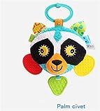 Gperw Kleinkindspielzeug Kinder Infant Schöne Civet Cat Rolling Hand Erfassen Spiegel Spielzeug Bunte Sicherheit Spiegel Geschenk