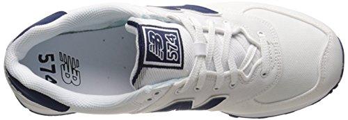 New Balance Lifestyle, Baskets Basses Homme Blanc (White)