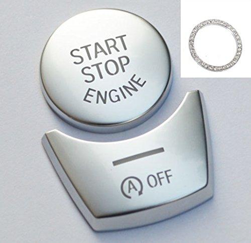 Dorhea car engine start stop pulsante adesivo, car-styling spazzola di ricambio per bmw 5567series gt gift a