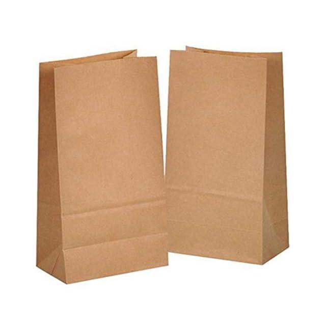 b8e3690f90 100 papier kraft sac sachet en sacs 14 x 26 x 8 cm cadeau noel mini ...