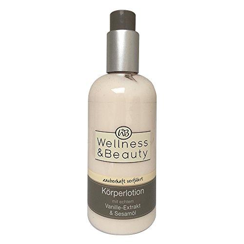 Wellness & Beauty Körperlotion mit Vanille-Extrakt & Sesamöl 250ml