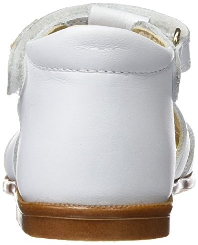 Pablosky 004800, Sandales fille Blanc