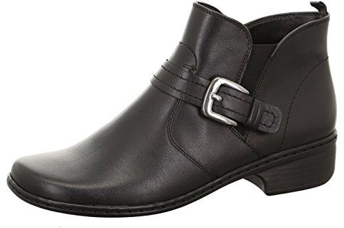 Jenny signore Boot RODI 22-62759-61 nero, taglia 37-41, cuoio, larghezza H, comma 2,5 cm schwarz