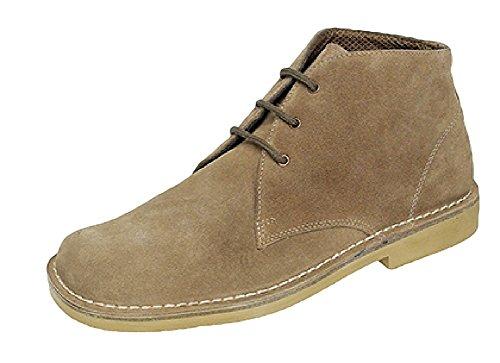 Roamer ,  Unisex - Erwachsene Desert Boots Sand