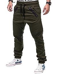 Betterstylz VenomBZ Hombre Chino Jogger Biker Pantalones div colores (S-XXXL)