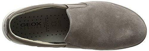 Geox U Nebula E, Sneakers Basses Homme Beige (Taupe)