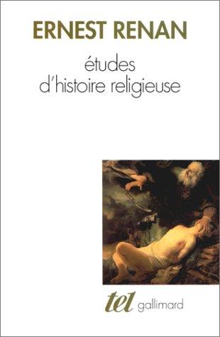 Etudes d'histoire religieuse / Nouvelles études d'histoire religieuse
