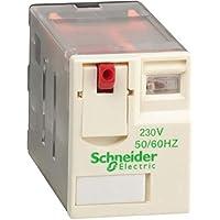Schneider Electric RXM4AB1P7 Relé de Miniatura Enchufable, Zelio RXM, 4 Ca, 230 V Ca