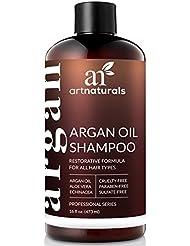 ArtNaturals Reines Organisches Arganöl Shampoo - (12 Oz/354 ml) - Zur Tägliche Haarpflege - Für jeden Haartyp geeignet - Sulfat- und Silikon-Frei