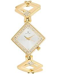 Escort Analog Silver Dial Women's Watch- 2350 GM SL