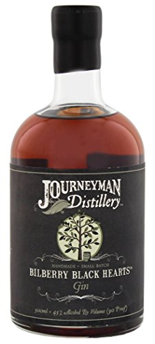 Journeyman Bilberry Black Hearts Aged Gin (1 x 0.5 l)