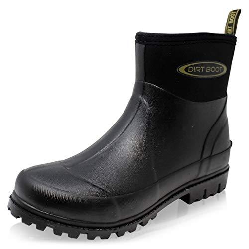 Dirt Boots Neoprene Wellington Garden Wellies Stable Yard Ankle Mucker Boots