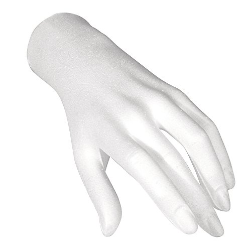 rayher-3396900-styropor-hand-weiblich-21-cm