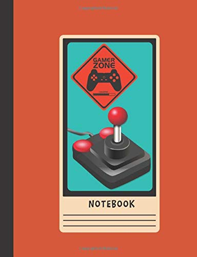 Composition Notebook: Gaming College Ruled Lined Journal for School