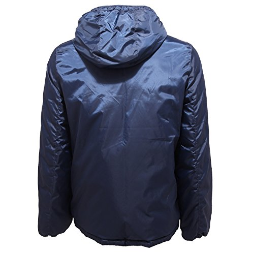 4707R giubbotto uomo ALTEA DOUBLE FACE blu verde jacket men Blu/Verde