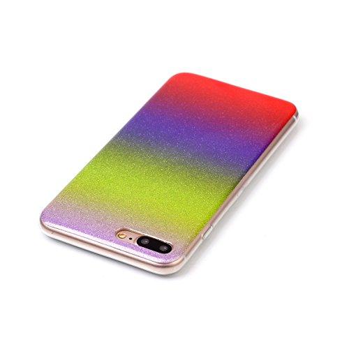 """inShang Hülle für iPhone 7 4.7"""" ,Ultra Schlank und leicht TPU Bequem Schutzhülle Rückcover (Back Case) design für Handy iPhone7 4.7 inch, 03"""