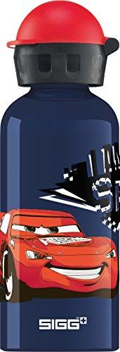 Sigg Kinder Trinkflasche Cars Speed, Bunt, 0.4
