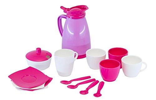 Wader 23034 Kaffeeservice GIRLS 16-teilig im Netz