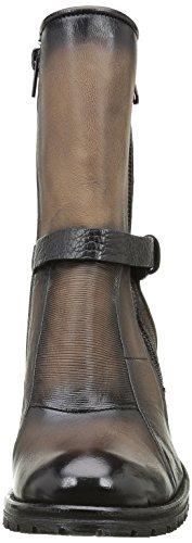 BUNKER Damen Patch Nb Stiefel & Stiefeletten Braun (TABAC)