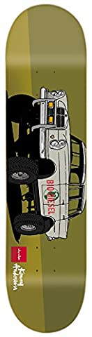 Chocolate Anderson Monster Trucks Skateboard 8.125x 31.625Tray