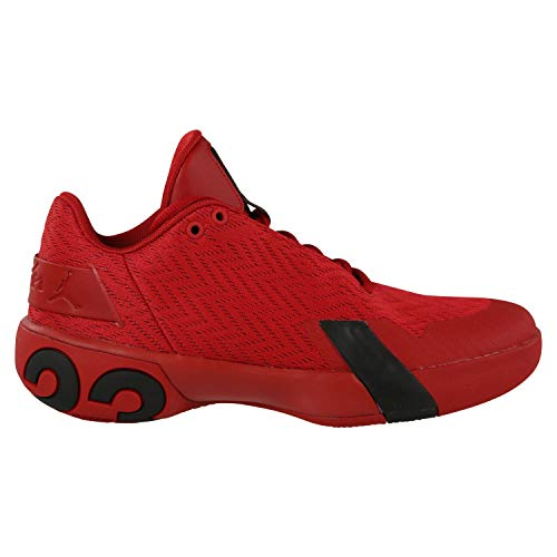 Nike Herren Jordan Ultra Fly 3 Low Basketballschuhe, Rot (Gym Red/Black 600), 43 EU - Air Zoom Basketball