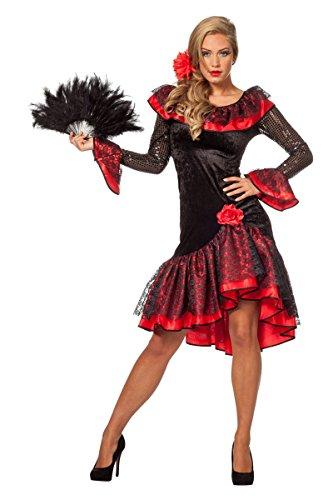 Generique - Flamencotänzerin - Für Erwachsene Spanierin Kostüm
