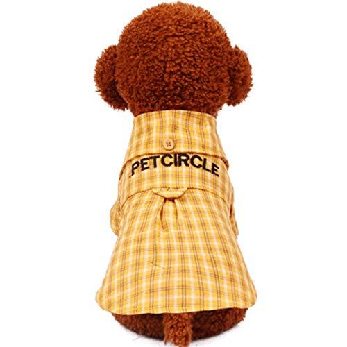 Pet Kleidung, verkleiden sich, coole Haustiere Mode Haustier Hund Kleidung Katze Welpen Haustier Frühling Sommer Shirt Kleine Haustier Kleidung Zwei Farben Optional, männlich / weiblich Bequem und ()