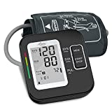 Electronic Blood Pressure Monitor, LOVIA Accurate Automatic Digital BP Machine for Home Use & Pulse Rate Monitoring Meter with Cuff, Large LCD Display, Dual User Mode, CE/FDA Certified