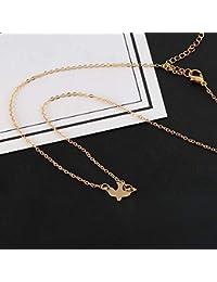 79ca37092431 Jovono - Collar con colgante de paloma para mujer y niña