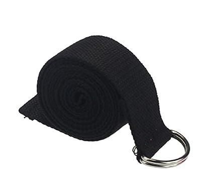 HARRYSTORE 180CM Verstellbarer Yoga Ausdehnungs Bügel D-Ring Gurt Taillen Bein Eignung Seil