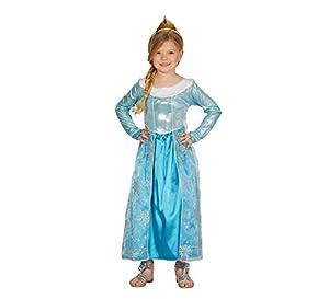Guirca-Disfraz Escarchada niña, Multicolor, 004.gu83390