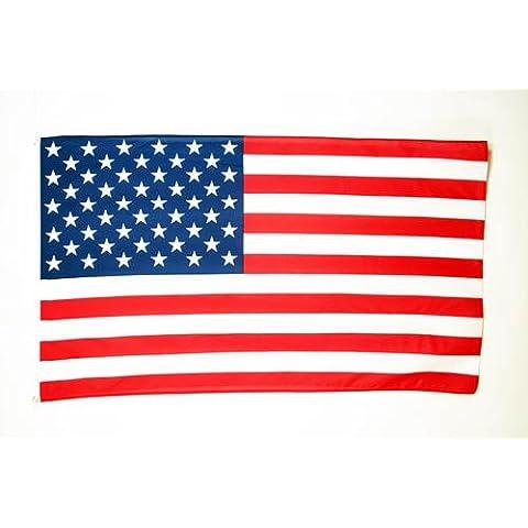 BANDIERA STATI UNITI 180x120cm - GRAN BANDIERA AMERICANA – USA 120 x 180 cm - AZ FLAG