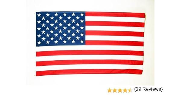 Grand Drapeau am/éricain AZ FLAG Drapeau Etats-Unis 180x120cm USA 120 x 180 cm
