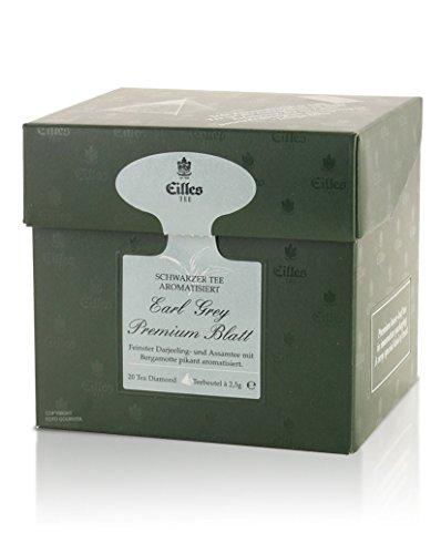 Tea Diamonds Earl Grey Premium Blatt 20 Pyramidenbeutel