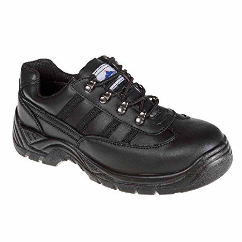 Portwest Fw25 Steelite™ Sécurité Formateur S1P Mens Chaussures De Protection Noir