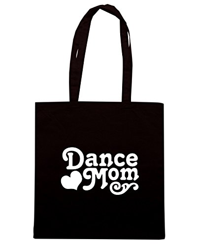 T-Shirtshock - Borsa Shopping FUN1144 dance mom window or wall decal 2 90010 Nero