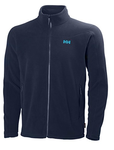 Helly Hansen Herren Fleecejacke Velocity JA Evening Blue, L - Geringes T-shirt Gewicht-hoodie