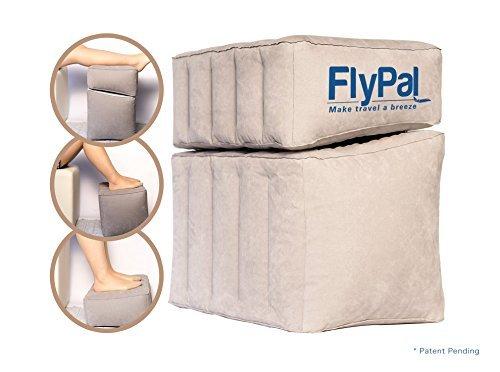 Skypal Cómodo, hinchable para pies y piernas (para coche, oficina, y...