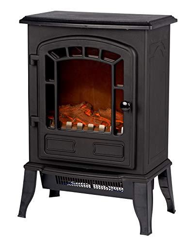 Classic Fire 'Torino' - Elektroheizung mit Kaminfeuer Effekt - 2000W -