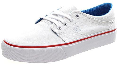DC Trase TX Women's White/Blue/Red Blanc