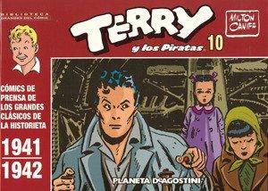 Biblioteca Grandes del Comic: Terry y los piratas nº 10